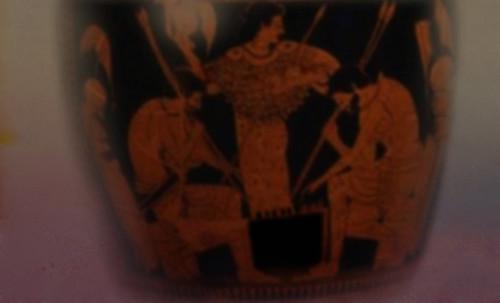 "Petteia - Ludus Latrunculorum  / Iconografía de las civilizaciones helenolatinas • <a style=""font-size:0.8em;"" href=""http://www.flickr.com/photos/30735181@N00/32522195155/"" target=""_blank"">View on Flickr</a>"