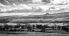 Middleton in Teesdale . (wayman2011) Tags: canon50d lightroom wayman2011 bwlandscapes mono rural pennines dales teesdale middletoninteesdale kirkcarrion countydurham uk