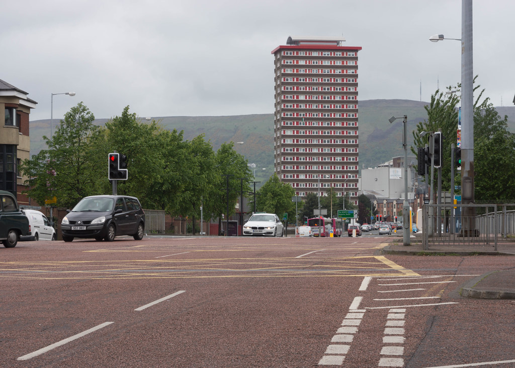 DIVIS TOWER IN BELFAST CITY [NORTHERN IRELAND] REF-104935