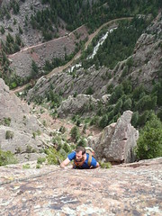 P6160018 (The19thLens) Tags: eldorado climbing multipitch