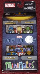MiniMates - Infinity 4-Pack (Darth Ray) Tags: art by america toys us infinity space 4 suit pack r captain thane hulk marvel asylum armored exclusive minimates thanos