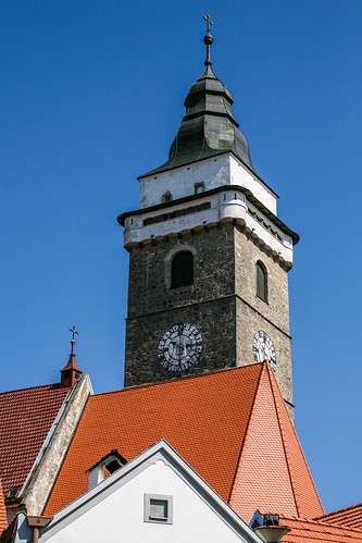 Slavonice, Church of the Assumption of Virgin Mary