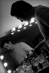 pouring light (bostankorkulugu) Tags: light reflection glass lamp bulb mirror wine budapest buda krisztian varfokstudio