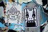 stickercombo (wojofoto) Tags: amsterdam streetart stickers stickerart stickercombo ndsm wojofoto wolfgangjosten wojo isoe sticker