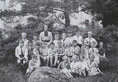Norra ngby Folkskola, klass 3d, vrterminen 1937 (Olle Sundh) Tags: stockholm norra skola klass bromma svv skolfoto ngby folkskola skolbarn vultejusvgen