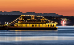 Point-Ruston-Ferry-Firewworks-1 (Rob Green - SmokingPit.com) Tags: city sunset 2 green water ferry speed sunrise canon way point fire photography lights bay boat washington ship slow waterfront display fireworks dusk mark south north salt vessel rob ii maritime sound 7d shutter wa tacoma commencement ruston puget 2015