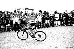 A Tuesday in Hell - A black and white series. Lars Bak (www.hot-gomez-fotografie.de) Tags: race pain nikon cyclist hell bikes tourdefrance cobbles d3 stage4 pav 2015