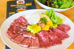 Set Premium Beef [สันคอคัดพิเศษ,กล้ามขาวัวเกรดเอ,เนื้อส่วนท้องและสันนอก]