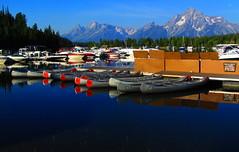 Grand Teton National Park (udbluehens) Tags: tetonrange grandtetonnationalpark colterbaymarina