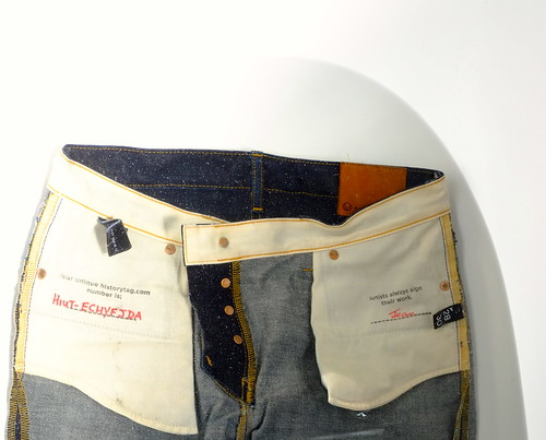 A picture of item #claireshiutjeans