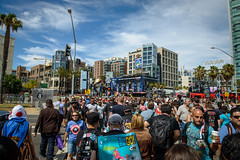 Large Crowd Outisde - San Diego Comic Con 2015 Saturday (4 of 75) (Alexander Matthews) Tags: signs rock outside lego sandiego cosplay crowd hard saturday center mob convention heroes comiccon hardrock railroadcrossing sdcc drone 2015 sandiegocomiccon sandiegocomiccon2015