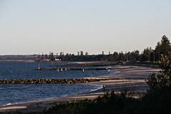2015 Sydney: Botany Bay #21 (dominotic) Tags: beach water plane airplane boat yacht jet sydney australia nsw newsouthwales watersports tasmansea botanybay tanker sydneyairport brightonlesands portbotany 2015 penalcolony airportrunway sydneykingsfordsmithairport australianpenalsettlement