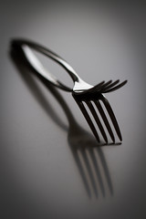 silverware (4) (keeperofthegreens) Tags: life food white black still silverware eating objects fork minimal everyday vignette