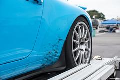 rubber boogers (hushypushy) Tags: race track 911 shell porsche vir 993 hoosier rivierablue virginiainternationalraceway carreracup teamdynamics