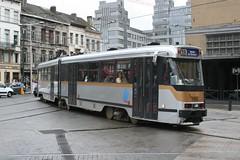 STIB/MIVB PCC tram 7701 Midi/Zuid (jc_snapper) Tags: brussels bruxelles tram bn streetcar brussel strassenbahn tramvaj pcc stibmivb