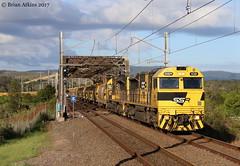 IMG_0917 SSR102 SSR101 Cockle Creek 1541 7.1.17 (Brians Railway Collection) Tags: railways ssr southernshorthaulrailroad ssr102 ssrclass cocklecreek grain bridge lines 1541 nsw newsouthwales australia ssr101