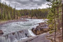 Lower Sunwapta Falls (John Payzant) Tags: hdr park alberta canada lower sunwapta jasper