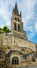 Église monolithe de Saint-Émilion (JiPiR) Tags: saintémilion aquitaine france