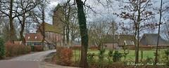 Havelte met de Clemenskerk (henkmulder887) Tags: havelte clemenskerk gemeentewesterveld drenthe zwdrenthe dorpsgezicht panorama pkn kerk church kirche eglise holland thenetherlands