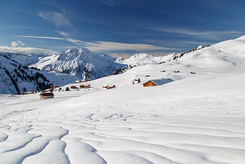 Fairy-tale snowscape