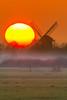 Sundown (jwfoto1973) Tags: sunset sonnenuntergang sonne sun mühle mill silhouette silhouetten nebel niederrhein nikon natur landschaft landscape johannesweyers d7100 deutschland germany