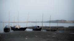 End of day (haqiqimeraat) Tags: padma river boats bangladesh nature 50mmf18 nikon d7100