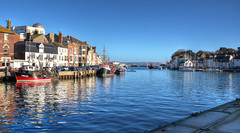 The old harbour at Weymouth, Dorset (Baz Richardson (catching up again!)) Tags: dorset weymoutholdharbour weymouth harbours fishingboats riverwey rivers