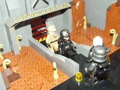 DSCF2244 (Nilbog Bricks) Tags: star wars lego moc minifigures stormtrooper base barracks