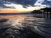 Ocean Bound (jawsnap.photo) Tags: beach clouds dusk ocean pier reflection sand santamonica sky sunset water project365 wwwjawsnapnet jawsnap