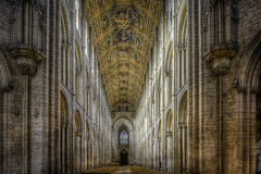 Ely Cathedral 8 (Darwinsgift) Tags: ely cathederal cambridgeshire hdr nikkor 24mm pce f35 tilt shift interior nikon d810 architecture norman gothic cathedral