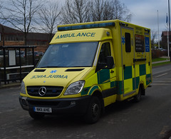 NK11AHE (Cobalt271) Tags: nk11ahe neas mercedes sprinter 516 cdi emergency ambulance nhs