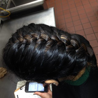 Another work french braid