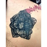 "A close up of an all black silohoutte cover up! You can't even see it in this detailed flower. #lovelifetattoony #hudsonvalley #cool #coverup #art #artist #girlswithtattoos #flower #banksy #awesome #linework #detailed #nofilter <a style=""margin-left:10px; font-size:0.8em;"" href=""http://www.flickr.com/photos/133769800@N04/18528418850/"" target=""_blank"">@flickr</a>"