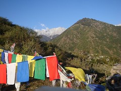 prayer flags view