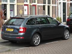 2015 Škoda Octavia Combi (harry_nl) Tags: netherlands utrecht nederland combi skoda 2015 škoda skodaoctavia sidecode9 ociavia gf777p