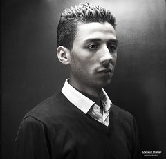 AHMED RABIE PORTRAIT 2015 (© Ahmed rabie) Tags: light portrait man black canon raw withe artificial headshot morocco ahmed hdr moroccan rabie