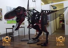 BIG RAH - AT KNIGHTON LANE STUDIOS (Mr Cleaver's Monsters) Tags: dinosaur puppet leicester monsters trex tyrannosaur mrcleaver dnweekend