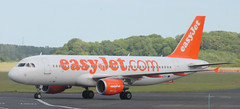 easyJet A320 G-EZUT (Joe Eccles) Tags: summer june newcastle airplane airport ncl egnt