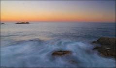 Atardecer (antoniocamero21) Tags: color marina de atardecer mar foto sony playa paisaje girona catalunya cala rocas mediterrneo tossa llevad