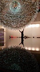 Lucent:  Explored 7.1.2015 (michael.veltman) Tags: light sculpture chicago reflection water john cool space center lobby figure outer hancock wolfgang lucent buttress