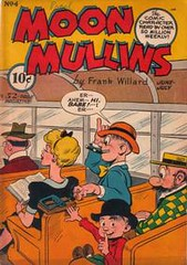 Moon Mullins 4 (Michael Vance1) Tags: art comics funny artist satire humor adventure comicbooks parody comicstrip goldenage cartoonist