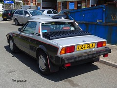 1981 Bertone X1/9 (Rorymacve Part II) Tags: auto road bus heritage cars sports car truck automobile estate fiat transport historic motor saloon compact roadster bertone fiatx19 x19 motorvehicle worldcars bertonex19
