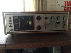 My new old stereo! (jstravelchannel) Tags: vintage antique vinyl retro stereo sound 1970s akai akaiaa8500