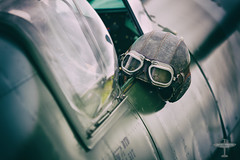 (James Wheeler Photography) Tags: goggles spitfire supermarine flyinghelmet