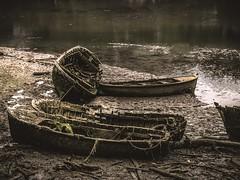 Barcas (F. Julián Martín Jimeno) Tags: españa rio nikon natural asturias barcas paraiso sella abandono ribadesella 2015 d5100