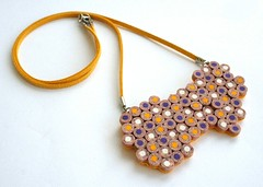 Pencil jewelry (Angela.B) Tags: summer pencil happy spring colorful handmade mosaic feminine jewelry polymerclay fimo creation faux dots multicolor coloredpencil hotcolors clayfimo colorfulmulticolor
