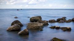 Poeler Strand (martha hoo) Tags: longexposure water stone landscape meer wasser balticsea steine landschaft stein ostsee langzeitbelichtung ndfilter