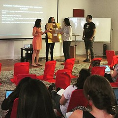 Live human demos @Hackbright are the best! Here are event handlers and event listeners showing us how it's done. (thisgirlangie) Tags: its us live best here event human handlers how done showing demos listeners hackbright