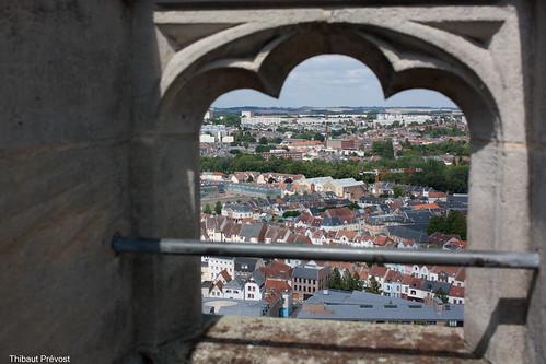 Vue sur Amiens