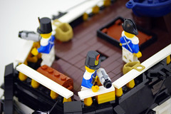 Imperial Brig (jskaare) Tags: boat sailing ship lego vessel pirate empire anchor imperial sail mast custom brigantine brig moc myowncreation